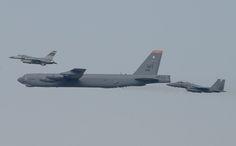 Significativo vuelo de un bombardero B-52H de la USAF sobre Corea de Sur-noticia defensa.com