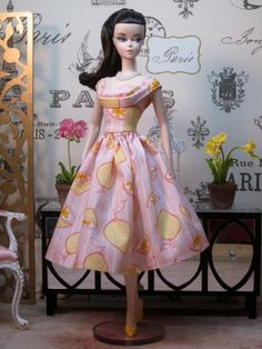 Pink Lemonade Rockabilly Dress by Bellissimacouture on Etsy