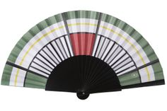 """""""Industrial"""" hand-fan collection by RL Leroux for Duvelleroy."""