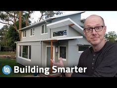 (152) Exploring Passive House Design - 90% Energy Savings! - YouTube Passive House Design, Barndominium, Save Energy, Exploring, The Help, House Plans, Building, Youtube, Home