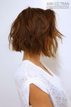 Mister AnhCoTran: SHORT HAIR SATURDAY! I want my hair to be this length and look like this when wavy.