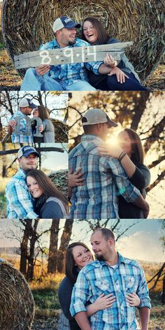 The Future Mr & Mrs McDonald ♥ - Rustic Farm Engagement Pictures at Sunset}  ©2013 Adrianna Dawn Hagan Photography (ADH Photography)