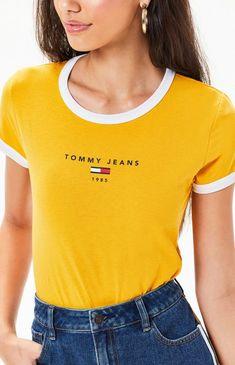 042c8c7e Ringer T-Shirt Tank Top Shirt, Tank Tops, T Shirt, Cute Tops