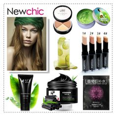 """Love NewChic"" by pixidreams ❤ liked on Polyvore featuring beauty and Pretty Green"