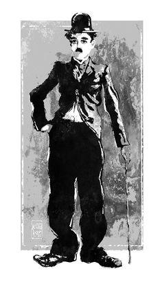 Charlie Chaplin - The Tramp by wooden-horse on DeviantArt