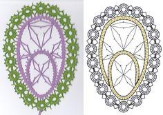 Bobbin Lace Patterns, Lace Making, Tatting, Easter, Symbols, How To Make, Decor, Bobbin Lacemaking, Needlepoint