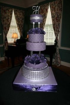 Purple cakes