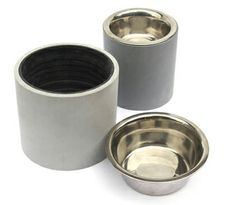 UPcycled elevated dog bowls, made of reclaimed PVC pipe, $25-$30