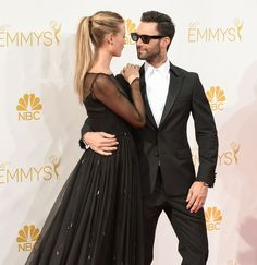 Adam Levine and Behati Prinsloo's Cutest PDA Moments