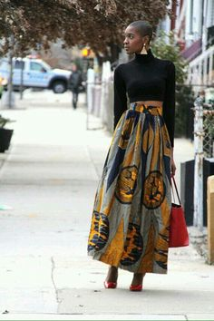 33 Trendy Fashion African Dress Print Skirt by African Inspired Fashion, African Print Fashion, Africa Fashion, Ethnic Fashion, Fashion Prints, Look Fashion, Trendy Fashion, Fashion Design, African Prints
