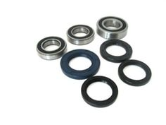 Boss Bearing Y-ATV-FR-1009-5J1-12 Both Front Wheel Bearings and Seals Kit for Yamaha Kodiak YFM450 4x4 2003-2006