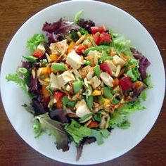 """Almond Chicken Salad 