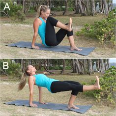 10 Crunch-Free Moves for Killer Abs - tried this after breakfast with the…
