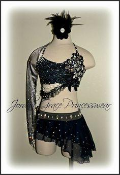 Jordan Grace Princesswear Custom Unique Dance Costumes design consultation choreography dance style