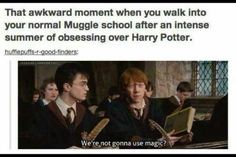 Or an intense Easter of Harry Potter
