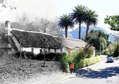 Glebe Cottage- Oldest building in Wynberg Victoria Falls, Old Building, Most Beautiful Cities, Historical Pictures, African History, Vintage Photographs, Cape Town, All Pictures, South Africa