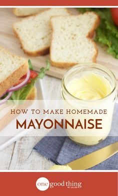 Learn just how easy it is to make your own homemade mayo at home. It takes seconds to make, and tastes way better than the store-bought stuff!