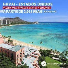 Quanto custa viajar para o paraíso?  Encontramos 15 datas com preços promocionais para você viajar para o Havai nos Estados Unidos.  Confira: https://www.passagemaerea.com.br/honolulu-havai.html  #havai #hawaii #estadosunidos #viagem #ferias #turismo