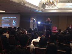 ¡Muchas gracias por conferencia! #YoAudiovisualesUSMP @usmpredaccion @JoseMNoriega