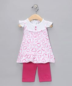 Cute Valentine's Day outfit! Only $8.99 by Coney Island Kids