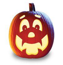 107 best pumpkin stencils for faces images on pinterest halloween happy hal pumpkin carving pattern maxwellsz