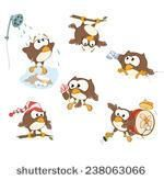 Set Cute Owls You Design Vector Stock Vector (Royalty Free) 238063066 Vector Icons, Vector Art, Owl Sketch, Owl Cartoon, Cute Owl, Clipart, Art Images, Illustration, Your Design
