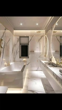 Dream House Interior, Luxury Homes Dream Houses, Dream Home Design, House Design, Dream Homes, Cozy Bathroom, Bathroom Goals, Modern Marble Bathroom, Zebra Bathroom