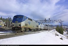 RailPictures.Net Photo: AMTK 183 Amtrak GE P42DC at Truckee, California by Amtrakdavis22