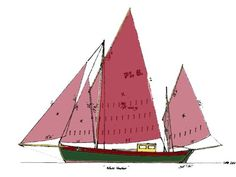 The 'White Heather'. A type of Manx fishing boat knowna as a 'Nobby'.  http://www.white-heather-nobby.com/story.htm