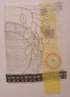 Dorothy Tucker -- stitched entirely in running stitch