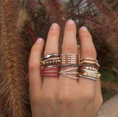 Fridaze✨Roseark Welcomes Designer  @melissakayejewelry #melissakayejewelry #New #Love #stack #ROSEARK