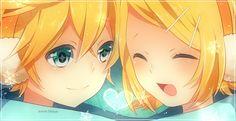 """""""Vocaloid Kagamine Rin e Kagamine Len"""""""