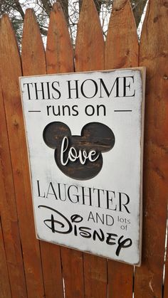 disney crafts Haylee's Closet creates custom carved wooden signs for that perfect personalized addition to your home decor. All of our signs are hand painted and lightly distressed for t Disney Christmas Decorations, Disney Home Decor, Disney Crafts, Disney Wall Decor, Casa Disney, Disney Rooms, Disney House, Disneyland, Disney Sign