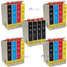 20 Inks (8x 4x 4x 4x T1284) Multipack 4 full Set + 4 extra black printing Ink Cartridges compatible for epson stylus S22 & OFFICE Plus printers T1281 T1282 T1283 T1285 SX125 SX130 SX420W SX425W SX430W SX438W SX440W SX445W BX305F BX305FW - Item No:  T1281 T1282 T1283 T1284 Multipack T1285  Item include:  8 x T1281 Black 4 x T1282 Cyan 4 x T1283 Magenta 4 x T1284 Yellow  Packing: built-in anti-static bag  Compatible printers : Epson Stylus Office BX305F Epson Stylus Office BX30