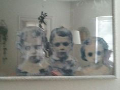 "You can also make your mirror ""haunted."" 