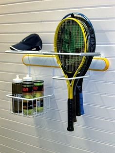 Tennis fan? If you love Wimbledon and want to store your tennis rackets and accessories easily in your garage then this is the storage for you.