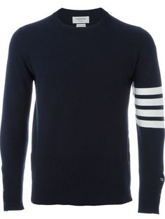 THOM BROWNE Armband Sweater. #thombrowne #cloth #sweater