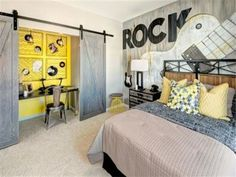 The Picture's a Little Blurry ~ But the Room 'Rocks'