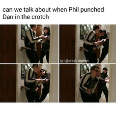 """When Dan's comment of, """"I'll touch you when I please,"""" comes back to haunt him..."""