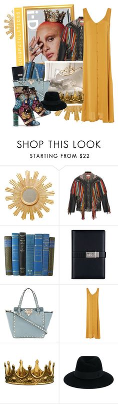 """""""Congratulations!"""" by fashionicious ❤ liked on Polyvore featuring Worlds Away, Gucci, Valentino, Christine Alcalay, Seletti, Maison Michel and Dolce&Gabbana"""