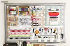 10 Creative Craft Rooms and Home Offices | Classy Clutter