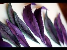 How to Make Gumpaste Feather Tutorial
