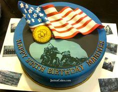 Marine Corps 235th Birthday Cake