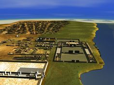 amarna | AMARNAold19.jpg  What the 18th dynasty City Amarna might have looked like 3300 BC