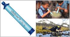 LifeStraw Personal Water Filter: Everyone Needs This On Hand at All Times #PersonalWaterFilter Always keep a LifeStraw on hand for emergencies or camping...