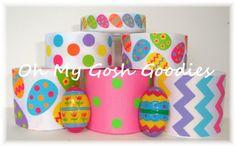 EGGCEPTIONAL EGGS BRIGHT Ribbon Mix - Oh My Gosh Goodies Ribbon by omygoshgoodies on Etsy https://www.etsy.com/listing/175157614/eggceptional-eggs-bright-ribbon-mix-oh