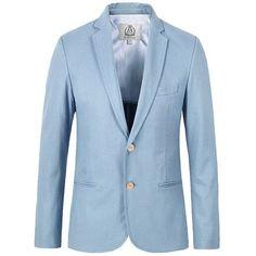 E-artist Men's Slim Fit Business Casual Linen and Cotton Blazer Jackets Male 2 Buttons Suit Coats Plus Size 5XL X09