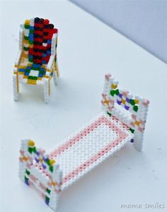 3D Perler bead furniture makes a great creative project for kids - plus more after school learning and fun!