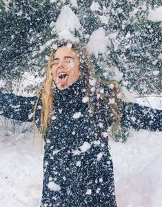Have you ever tried catching snowflakes on your tongue.......
