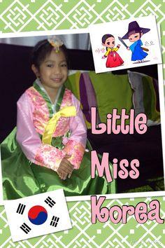 DIY Little Miss Korea Costume